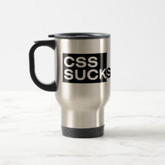 CSS Sucks Travel Mug