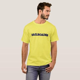 CSX Font Railroader T-shirt