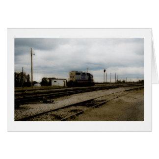 CSX Railroad Dieesel Yard Engine Toledo, OH Card