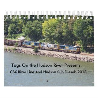 CSX River Line Diesels 2018 & Hudson Sub Calendar