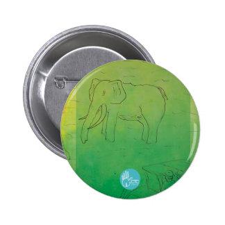 CTC International - Elephant 6 Cm Round Badge