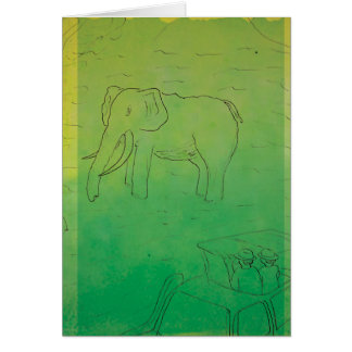 CTC International - Elephant Card