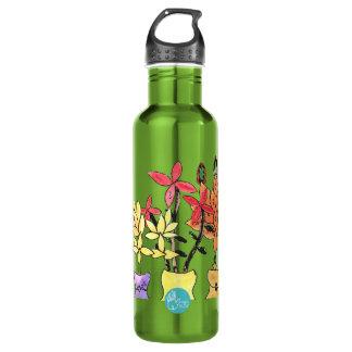 CTC International - Flowers 710 Ml Water Bottle