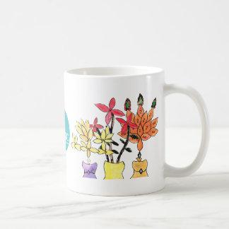 CTC International -  Flowers Basic White Mug