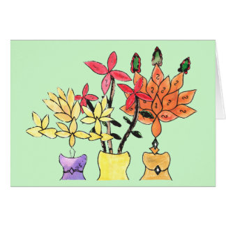 CTC International - Flowers Card