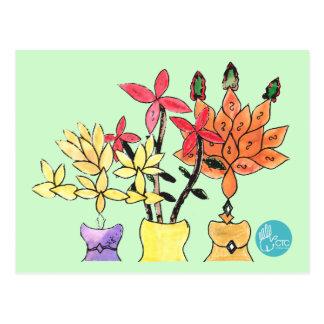 CTC International - Flowers Postcard