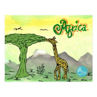 CTC International - Giraffe Post Cards