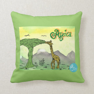 CTC International - Giraffe Throw Pillow