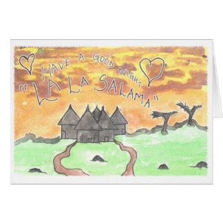 CTC International - Goodnight Greeting Card