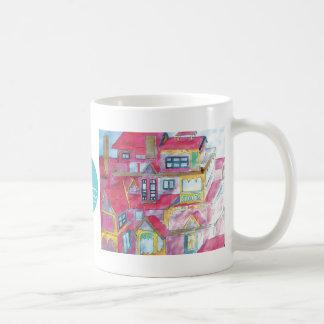 CTC International - Houses Basic White Mug