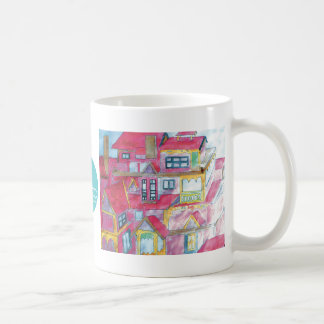 CTC International - Houses Classic White Coffee Mug