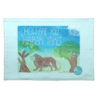 CTC International - How Are You Placemat