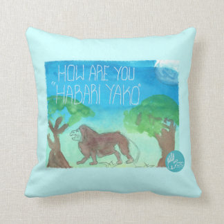 CTC International - How Are You Throw Pillows