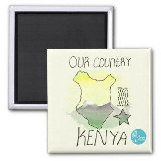 CTC International - Kenya Square Magnet