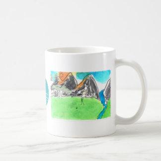 CTC International - Man and River Basic White Mug