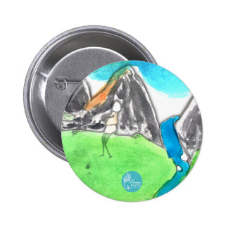 CTC International - Man and River Pinback Buttons