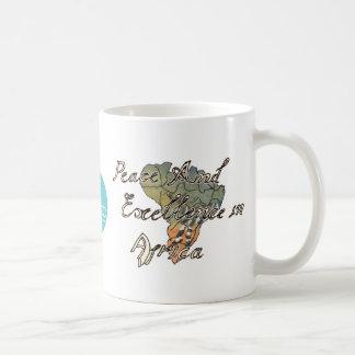 CTC International - Peace Classic White Coffee Mug