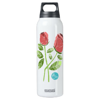 CTC International - Roses 0.5L Insulated SIGG Thermos Water Bottle