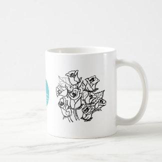 CTC International -  Roses 2 Basic White Mug