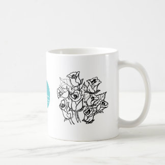 CTC International -  Roses 2 Classic White Coffee Mug