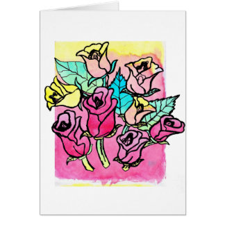 CTC International -  Roses 3 Greeting Cards