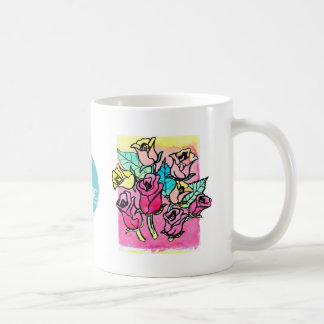 CTC International -  Roses 3 Classic White Coffee Mug