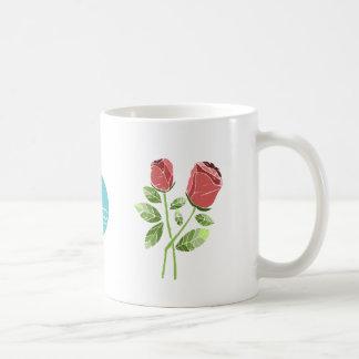 CTC International -  Roses Basic White Mug