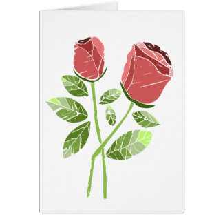 CTC International -  Roses Greeting Cards