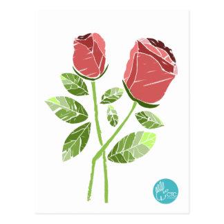 CTC International -  Roses Postcard