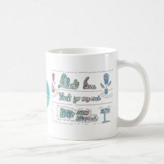 CTC International - Thank You Basic White Mug