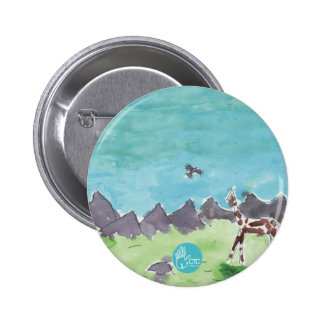 CTC International - Tribal 6 Cm Round Badge