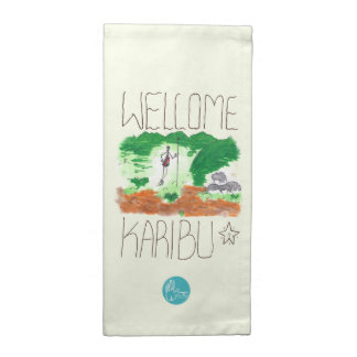 CTC International - Welcome Printed Napkin
