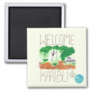 CTC International - Welcome Square Magnet