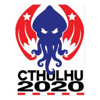 cthulhu 2020 postcard