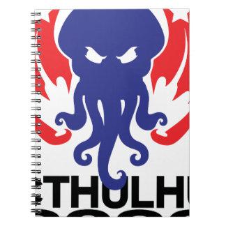 cthulhu 2020 spiral notebook