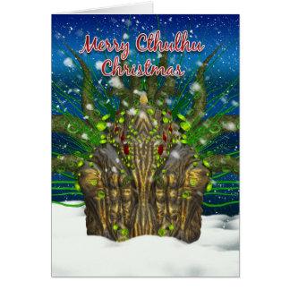 Cthulhu Christmas Card - Cthulhu