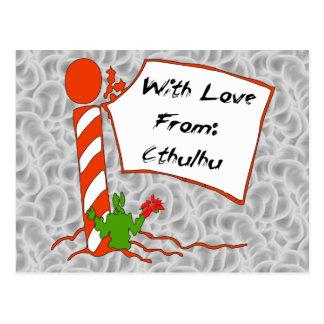 Cthulhu Christmas Postcard
