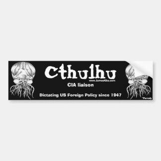 Cthulhu: CIA liaison Bumper Sticker