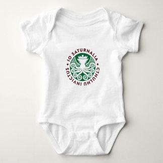 Cthulhu Declares War on Christmas Baby Bodysuit