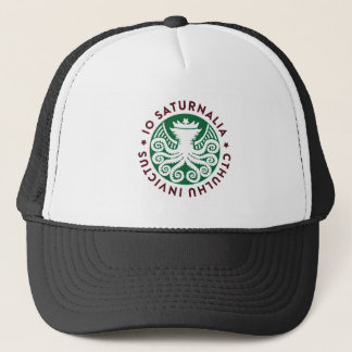 Cthulhu Declares War on Christmas Trucker Hat
