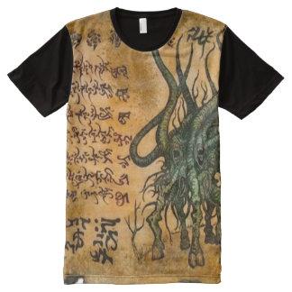 Cthulhu Demon Magick All-Over Print T-Shirt