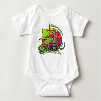 Cthulhu Eating the Obelisk on the Washington D.C. Baby Bodysuit
