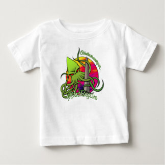 Cthulhu Eating the Obelisk on the Washington D.C. Baby T-Shirt