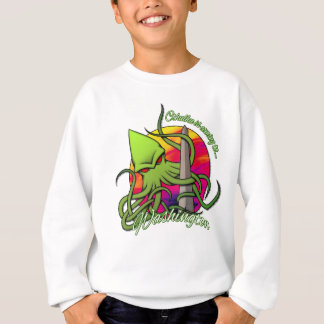 Cthulhu Eating the Obelisk on the Washington D.C. Sweatshirt