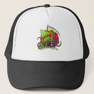 Cthulhu Eating the Obelisk on the Washington D.C. Trucker Hat