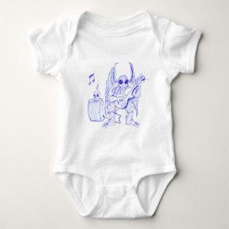 Cthulhu Guitar Baby Bodysuit