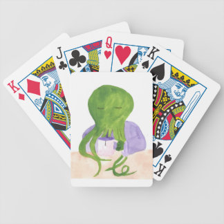 Cthulhu Has A Cup Of Tea Bicycle Playing Cards