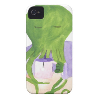 Cthulhu Has A Cup Of Tea iPhone 4 Cover