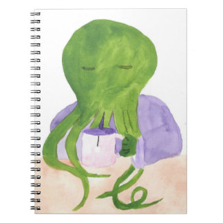Cthulhu Has A Cup Of Tea Notebook