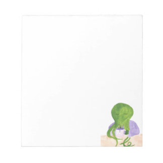 Cthulhu Has A Cup Of Tea Notepad